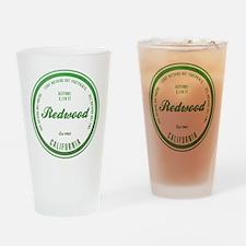 RedWood National Park, California Drinking Glass