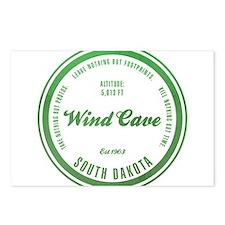 Wind Cave National Park, South Dakota Postcards (P