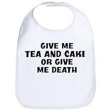 Give me Tea And Cake Bib