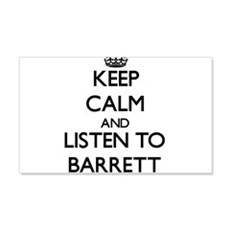 Keep Calm and Listen to Barrett Wall Decal