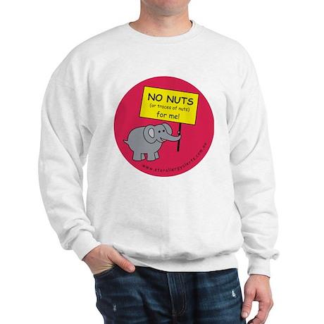 NO NUTS (or traces) Sweatshirt