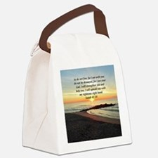ISAIAH 41:10 Canvas Lunch Bag