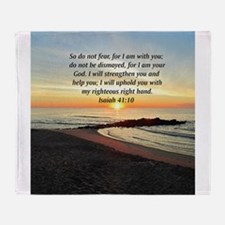 ISAIAH 41:10 Throw Blanket