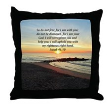 ISAIAH 41:10 Throw Pillow