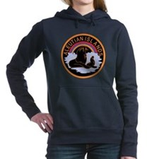 Aleutian Islands Command.png Women's Hooded Sweats