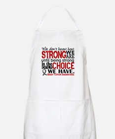 Brain Tumor How Strong We Are Apron