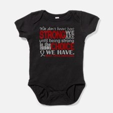 Brain Tumor How Strong We Are Baby Bodysuit