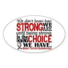 Brain Tumor How Strong We Are Decal