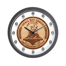 USS Abraham Lincoln CVN-72 Wall Clock