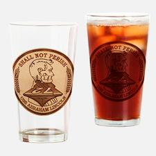 USS Abraham Lincoln CVN-72 Drinking Glass