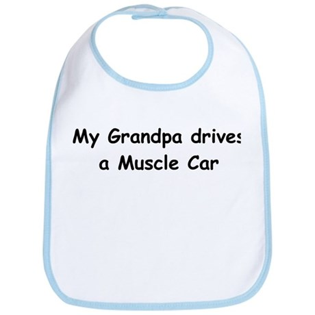 Grandpas Muscle Car Bib