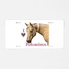 Funny Palomino Aluminum License Plate