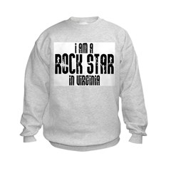 Rock Star In Virginia Sweatshirt