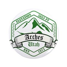 "Arches National Park, Utah 3.5"" Button"