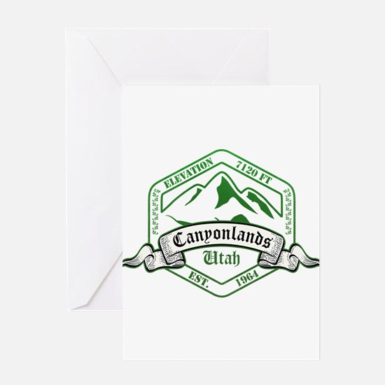 Canyonlands National Park, Utah Greeting Cards