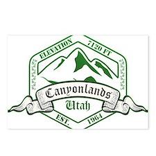 Canyonlands National Park, Utah Postcards (Package