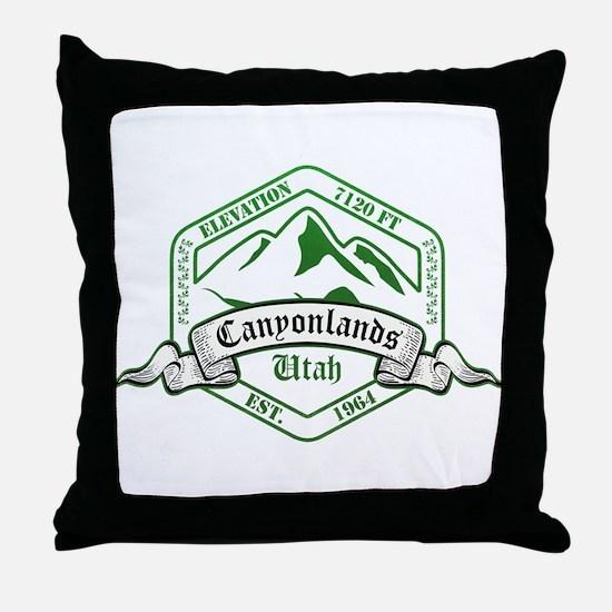 Canyonlands National Park, Utah Throw Pillow