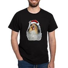 Santa Collie T-Shirt
