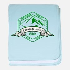 Cuyahoga Valley National Park, Ohio baby blanket