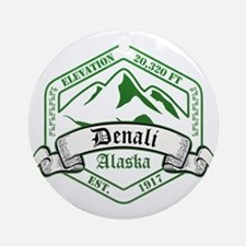 Denali National Park, Alaska Ornament (Round)