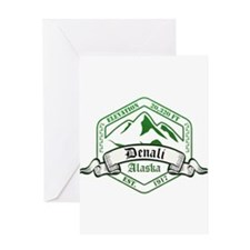 Denali National Park, Alaska Greeting Cards