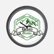 Denali National Park, Alaska Wall Clock
