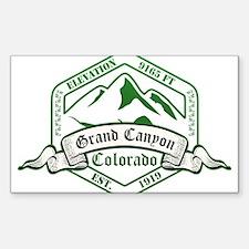 Grand Canyon National Park, Colorado Decal