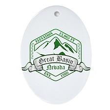 Great Basin National Park, Nevada Ornament (Oval)