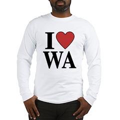 I Love Washington Long Sleeve T-Shirt