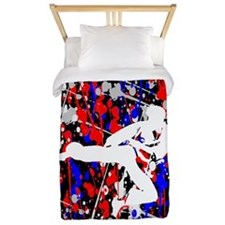 Karate Show Twin Duvet