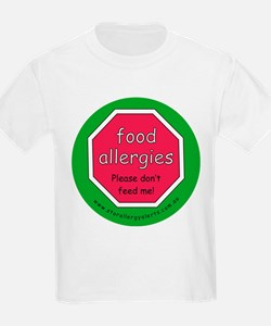 food allergies don't feed T-Shirt