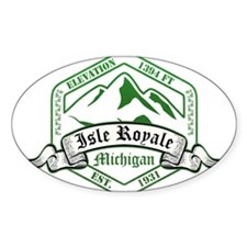 Isle Royale National Park, Michigan Decal
