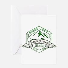 Kenai Fjords National Park, Alaska Greeting Cards