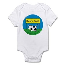 Dairy free-allergy alert Infant Bodysuit