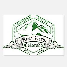 Mesa Verde National Park, Colorado Postcards (Pack