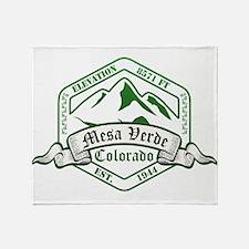 Mesa Verde National Park, Colorado Throw Blanket