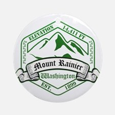 Mount Rainier National Park, Washington Ornament (