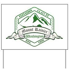 Mount Rainier National Park, Washington Yard Sign