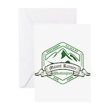 Mount Rainier National Park, Washington Greeting C