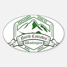 North Cascades National Park, Washington Decal