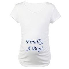 Finally, A Boy! Shirt