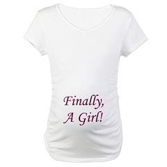 Finally, A Girl! Shirt