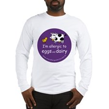 eggs and dairy Long Sleeve T-Shirt