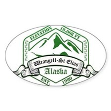 Wrangell–St. Elias National Park, Alaska Decal