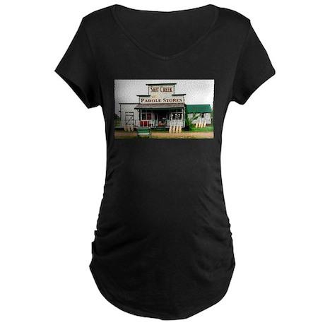 Shit's Creek Paddle Store Maternity Dark T-Shirt
