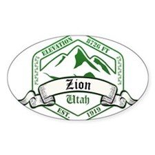 Zion National Park, Utah Decal