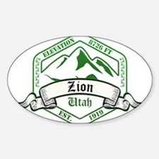 Zion National Park, Utah Decal