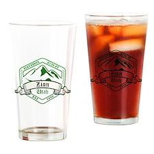 Zion National Park, Utah Drinking Glass