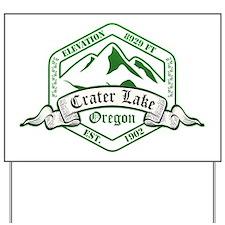 Crater Lake National Park, Oregon Yard Sign