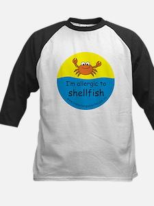 I'm allergic to shellfish Kids Baseball Jersey